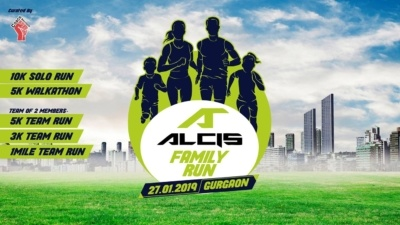 Event Name- Alcis Family Run Date of Event- Sunday, 27th January 2019 Time- 7:00 am Venue- Gurugram