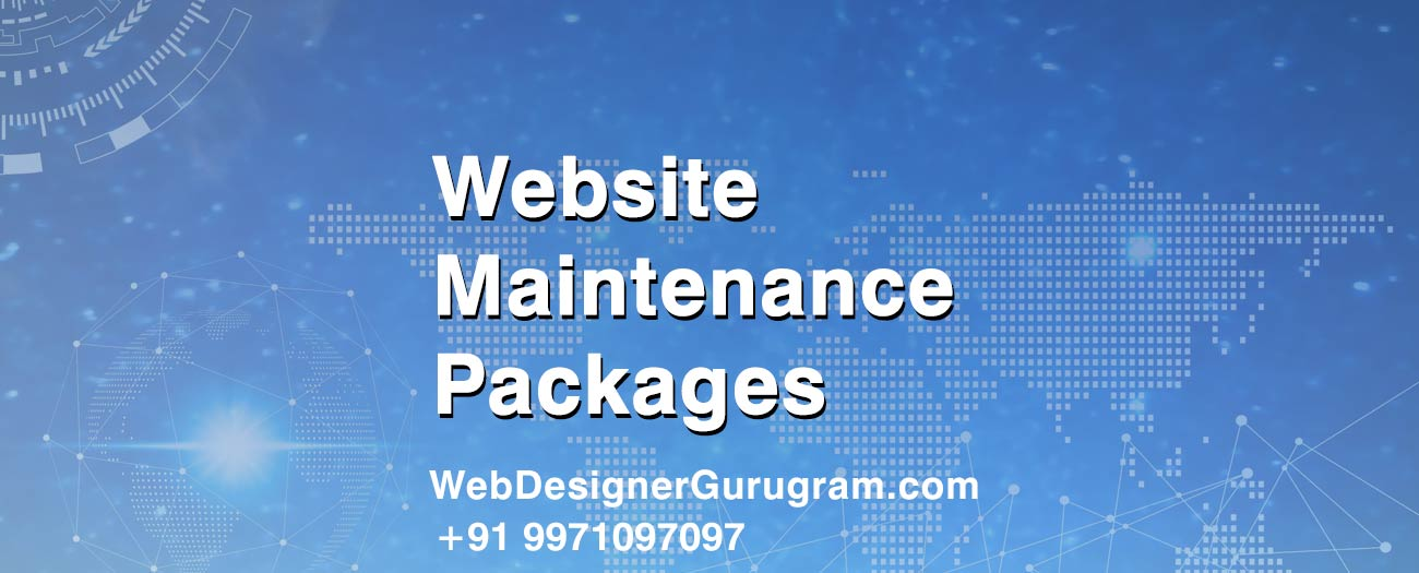 Website Maintenance Packages Gurgaon India