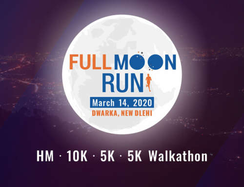 Full Moon Run, Dwarka, New Delhi