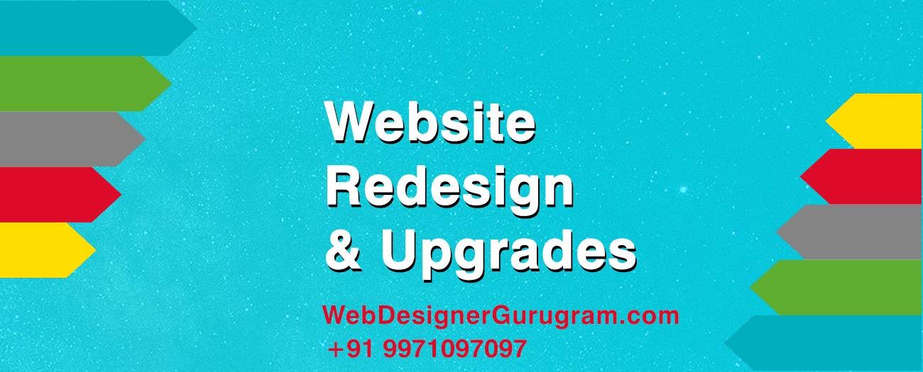 Website Redesign & Upgrades