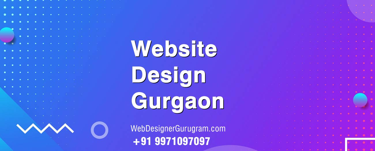 Web Design Golf Course Road Gurgaon