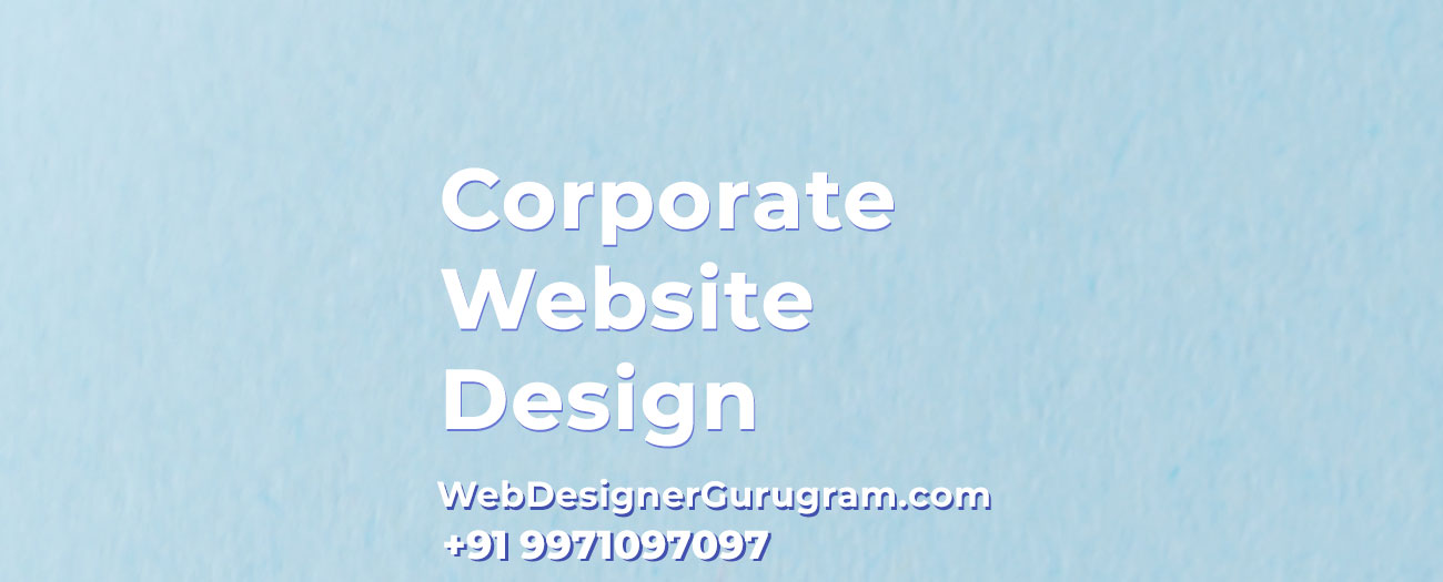 Corporate Website Design Gurgaon