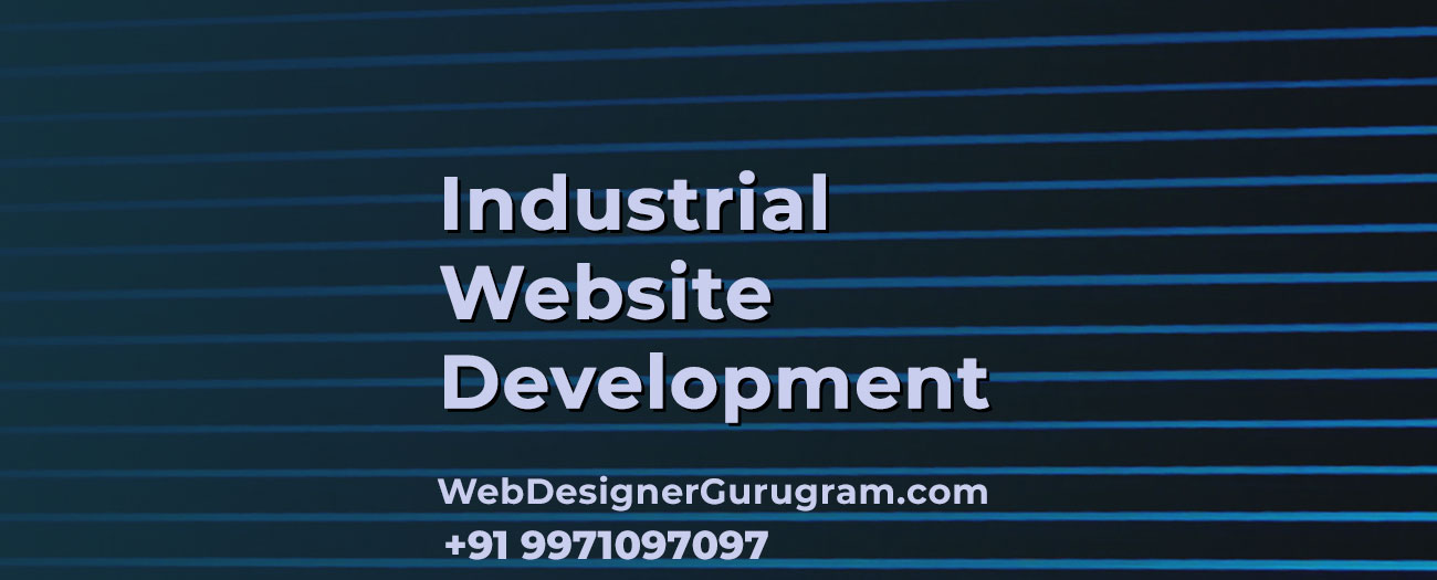 Industrial Website Design Gurgaon